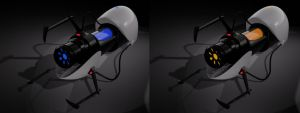 Aperture Science Handheld Portal Device by virgodmonkey2