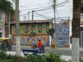 Iquitos Wall by Pistachio-Ice-Cream