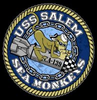 USS Salem Sea Monkeys by rawddesign