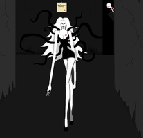 Slenderwoman will get you by Scarygermangirl