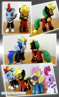 PowerPonies ZAPP and MISTRESS MAREVOLOUS by HeyLookASign