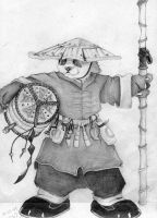 Pandaren from Warcraft III by fairytalesuicide