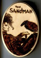 Sandman Woodburning by Amarisa