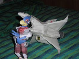 Great fox and falco papercraft by kirbymike