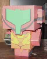Metroid Cubee by paperart