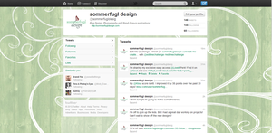 Fun Wooden Twitter Backgrounds by DesiraeR