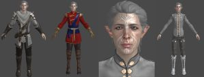 DAI Elf Male Inquisitor XPS by Padme4000