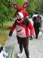 Foxy's adventures at Tracon X by DummyHeart