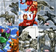 Marvel Heroes and Villains 23 by RichardCox