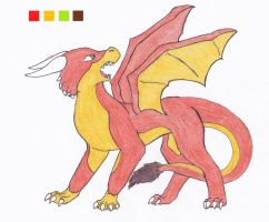 Red Dragon by Tetsumon