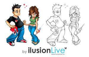 Ilusionlive - Churris 01 - by Ilusionlive