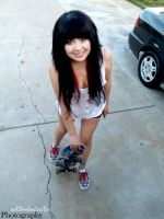 Learning how to sk8 by Analy-Aranda