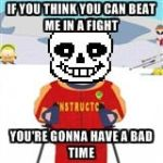 Bad Time Sans by ElviraProductions