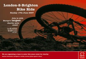 London to Brighton Poster by Robustion