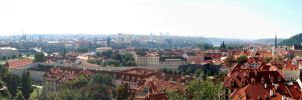 The rooftops of Prague I by MiouQueuing