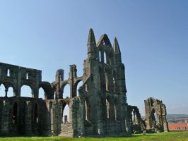 Whitby Abbey 3 by We-Are-Under-1-Dome