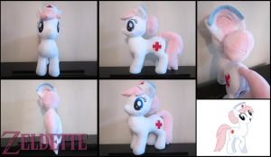 Nurse Redheart plush by Miss-Zeldette