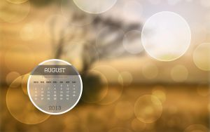 Desktop Calendar Photo August 2013 by Lavinia1988