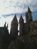 Hogwarts Castle by BookWorm6
