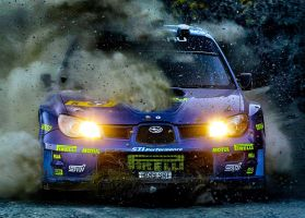 Subaru Impreza WRC In Little HDR by Spider-IKA