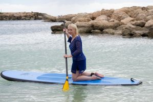 Paddleboard Stock by Tris-Marie