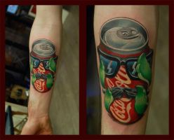 Coke with a Twist by Norbert Halasz by DublinInk