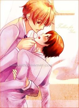 Ouran - Fallen for You by yurecia