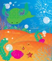 deep sea by Lucora