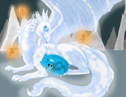 Ice Gaurdian by cyngawolf
