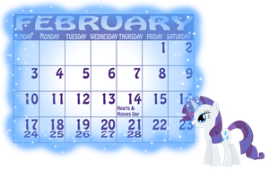 Rarity - February by MountainLygon