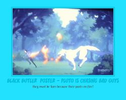 Pluto 2 - Black Butler Poster by AnnieSmith
