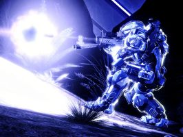 Halo 4: Smiles And Wait For Flash by purpledragon104