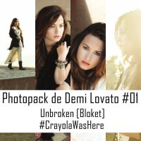 Photopack de Demi Lovato #O1 by CrayolaWasHere