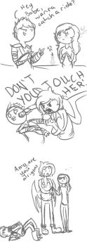 DON'T YOU TOUCH HER! by AskPrince-of-Rejects