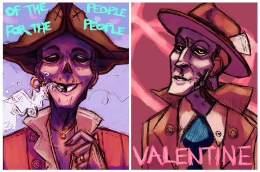[FANART] John Hancock and Nick Valentine by kate-carpenter