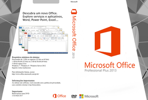 Cover Microsoft Office Professional Plus (PT-BR) by GustavoVS
