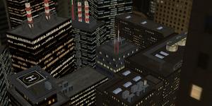 [MMD] City Rooftop Stage -DL- by DeidaraChanHeart