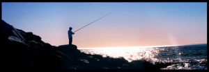 Fisherman's Silhouette by vest