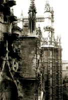 Towers of Seville Cathedral 2 by Artimise