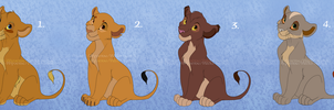 Lion Adopt Batch 4 : CLOSED! by Titanic-Wyvern