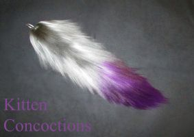 Silver and Purple by KittenConcoctions