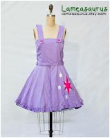 Twilight Sparkle Retro Style Dress with cutie mark by Lameasaurus-etsy