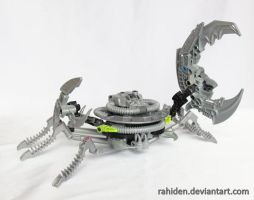 Bionicle MOC: Cancer by Rahiden