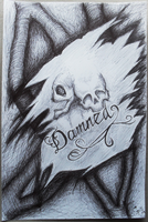 Damned heart. by cassiopeiathestrange