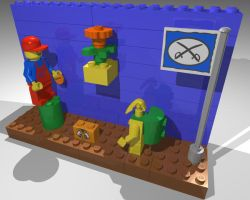 Super Mario Legos 1 by gpsc