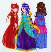 FY Magical Princesses by kittyocean
