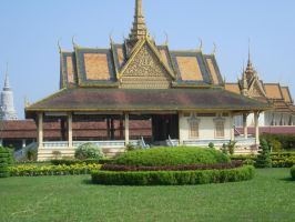 Thai pavillion stock by joelshine-stock