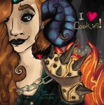 Cookie Loving Fiend by IsaacChamplain