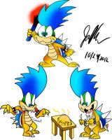 Larry Koopa by Jamesaragonastudios