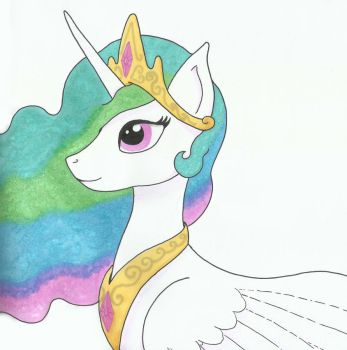 Celestia by MelodyLawrenceArt